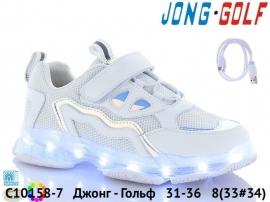 Джонг - Гольф Кроссовки LED C10158-7 31-36