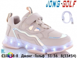 Джонг - Гольф Кроссовки LED C10158-8 31-36