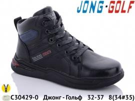 Джонг - Гольф Ботинки зимние C30429-0 32-37