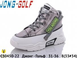Джонг - Гольф Ботинки демисезонные C30450-22 31-36
