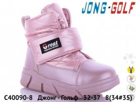 Джонг - Гольф дутики C40090-8 32-37