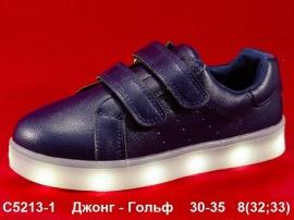 Джонг - Гольф Кроссовки LED C5213-1 30-35