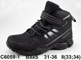 BaaS Кроссовки зимние C6059-1 31-36