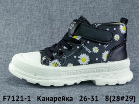 Канарейка Ботинки демисезонные F7121-1 26-31