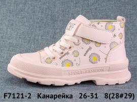 Канарейка Ботинки демисезонные F7121-2 26-31