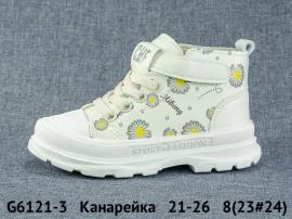 Канарейка Ботинки демисезонные G6121-3 21-26