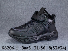 BaaS Ботинки демисезонные K6206-1 31-36