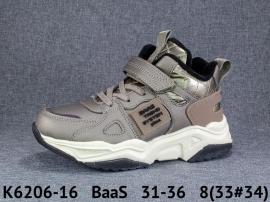 BaaS Ботинки демисезонные K6206-16 31-36