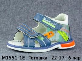 Тотошка Сандалии M1551-1E 22-27
