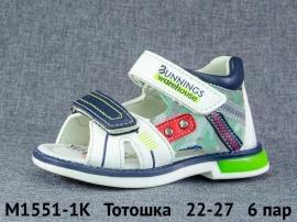 Тотошка Сандалии M1551-1K 22-27