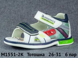 Тотошка Сандалии M1551-2K 26-31