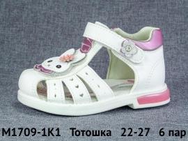 Тотошка Сандалии M1709-1K1 22-27