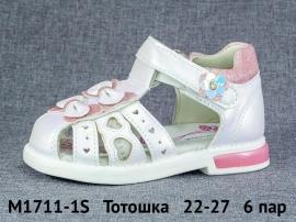 Тотошка Сандалии M1711-1S 22-27