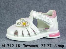 Тотошка Сандалии M1712-1K 22-27