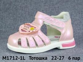 Тотошка Сандалии M1712-1L 22-27
