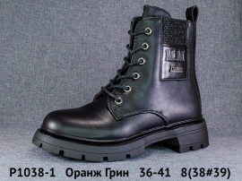 Оранж Грин Ботинки демисезонные P1038-1 36-41