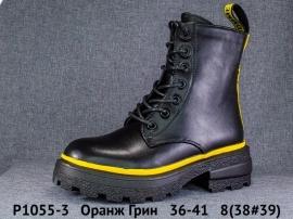 Оранж Грин Ботинки демисезонные P1055-3 36-41