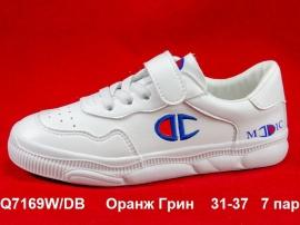 Оранж Грин Слипоны Q7169W\DB  31-37