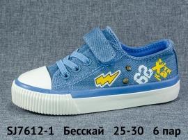 Бесскай Кеды SJ7612-1 25-30