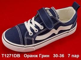Оранж Грин Кеды T1271DB 30-36