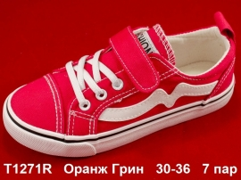 Оранж Грин Кеды T1271R 30-36