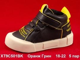 Оранж Грин Ботинки демисезонные XT9C501BK 18-22