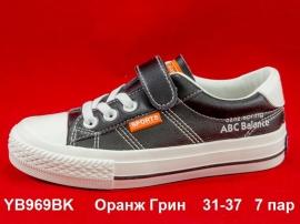 Оранж Грин Слипоны YB969BK  31-37