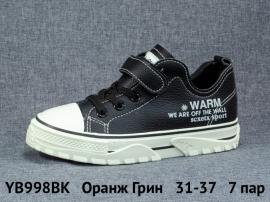 Оранж Грин Ботинки демисезонные YB998BK 31-37