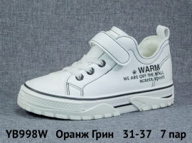 Оранж Грин Ботинки демисезонные YB998W 31-37