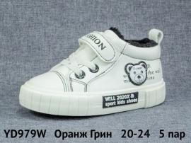Оранж Грин Ботинки демисезонные YD979W 20-24