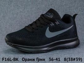 Оранж Грин Кроссовки закрытые F16L-BK 36-41