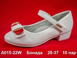Бонада Туфли A015-22W 28-37