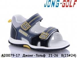 Джонг - Гольф Сандалии A20079-17 21-26