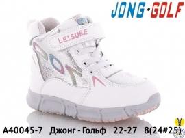 Джонг - Гольф Ботинки зимние A40045-7 22-27
