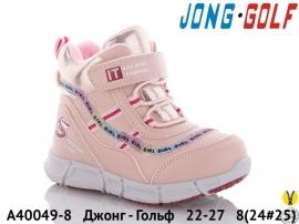 Джонг - Гольф Ботинки зимние A40049-8 22-27
