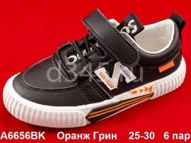 Оранж Грин Слипоны A6656BK 25-30