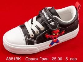 Оранж Грин Слипоны A881BK  25-30