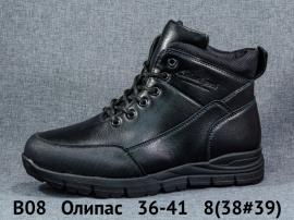 Олипас Ботинки зимние B08 36-41