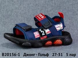 Джонг - Гольф Сандалии B20136-1 27-31