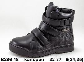 Калория Ботинки зимние B286-18 32-37