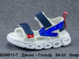 Джонг - Гольф Сандалии LED B30011-7 24-31