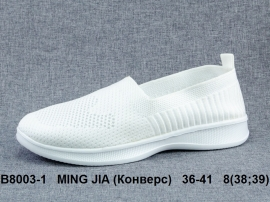 MING JIA (Конверс) Кроссовки летние B8003-1 36-41