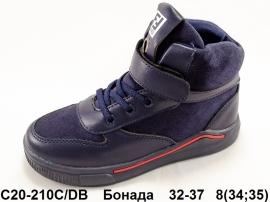 Бонада Ботинки демисезонные C20-210C/DB 32-37