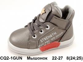 Мышонок Ботинки демисезонные CQ2-1GUN 22-27