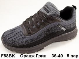 Оранж Грин Кроссовки летние F88BK 36-40