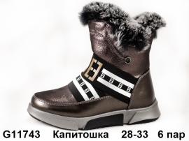 Капитошка Ботинки зимние G11743 28-33