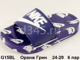 Оранж Грин Шлепки G15BL 24-29
