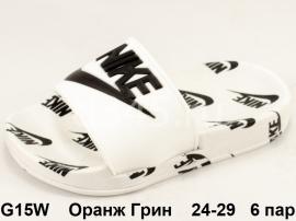 Оранж Грин Шлепки G15W 24-29