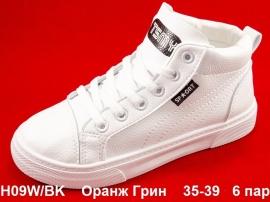 Оранж Грин Ботинки демисезонные H09W/BK  35-39