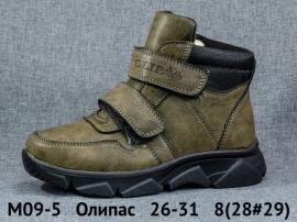 Олипас Ботинки зимние M09-5 26-31